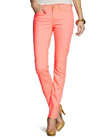 Mexx - Jean - Coupe Droite - Femme - Orange (831) - FR : 30W (Taille fabricant : 30)