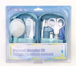 10 Piece Personal Grooming Kit with Travel Case! - 1