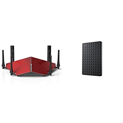 D-Link AC3200 Ultra Tri-Band Wi-Fi Router (DIR-890L/R) and Seagate 3TB Expansion Portable Hard Drive