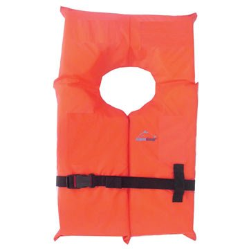 Aqua Gear Youth USCG Approved Type II Keyhole Recreational Life Jacket