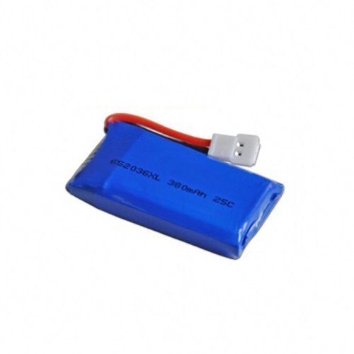 ZJchao 3.7V 380mah Upgraded Battery for Hubsan X4 H107 H107l H107c H107d V252 Jxd385 Quadcopter Helicopter - 1