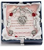 Love, Grandmother, Forever Silver & Crystal Expressively Yours Bracelet