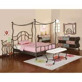 Parisian Canopy Bedroom Set