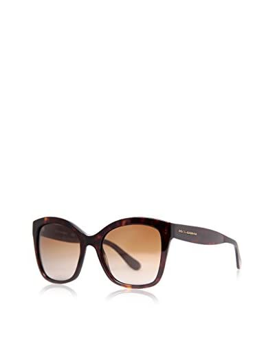 Dolce & Gabbana Women's DG4240 Sunglasses, Havana Brown