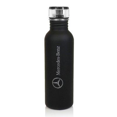 Mercedes-Benz Black Matte Finished Water Bottle