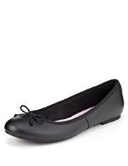 Slim Fit Scuff Resistant Ballet Pumps