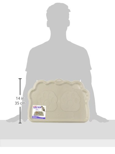 Omega Paw Pearilized Pebble Hungry Pet Mat 620661294633