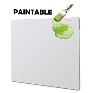 The Best 425w Paintable Eco Low Energy Electric Ceramic