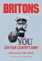 Paper poster printed on 20 x 30 stock. Britons: Join Your Country\'s Army