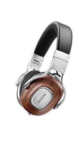 DENON MUSIC MANIAC オーバーイヤーヘッドホン 3ボタンリモコン/マイク付き ハイレゾ音源対応 ブラック AH-MM400EM