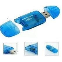 4 in 1 Mini USB 2.0 Memory Card Reader Writer SD MINISD MMC MOBILE RSMMC