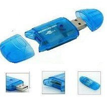 10 in 1 Mini USB 2.0 Memory Card Reader Writer