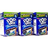 Kelloggs Frosted Blueberry Pop Tarts 416g (Pack of 3)