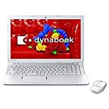 東芝 ノートパソコン dynabook T554/56LW(Microsoft Office Home and Business 2013搭載) PT55456LBXW