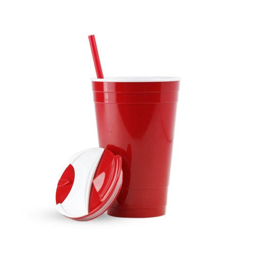 Drink Cup With Straw front-396856