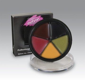 Mehron ProColorRing Bruise Custom Color Wheel (Bruise Colors)