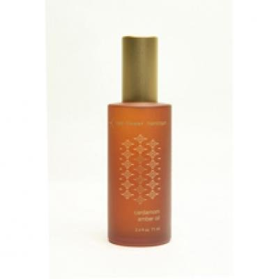 red flower Hammam Cardamom Amber Oil 2.4 fl oz (71 ml)