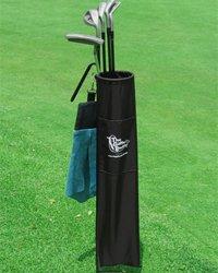 Golfer's Buddy Bag Mens Carry Bag-Black