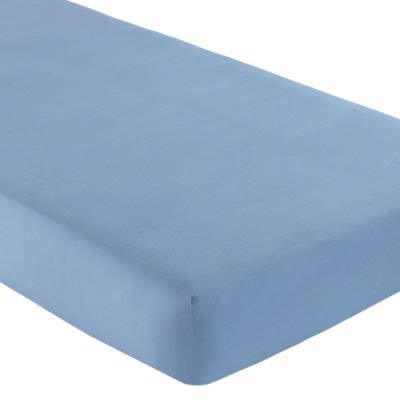 Blue Cradle Fitted Sheet - 100% Cotton - Jersey Knit - 1
