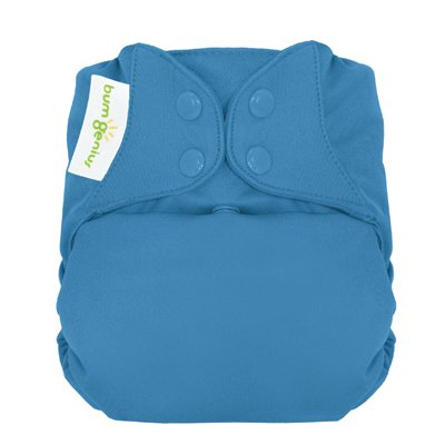Freetime (Snap) Aio Diaper With Stay Dry Liner - Moonbeam front-642763