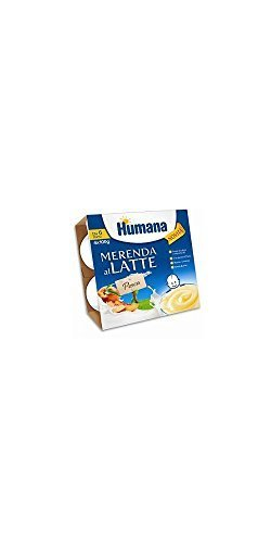 merenda al latte gusto merenda pesca 4 x 100 g