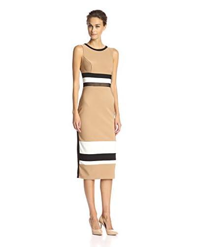 A.B.S. by Allen Schwartz Women's Color Block Sheath Dress