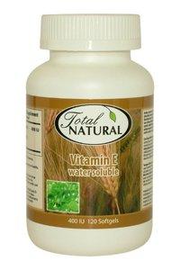 [5 Bottles] Vitamin E Water Soluble 400Iu 120S - Restore Skin Elasticity Health Solution