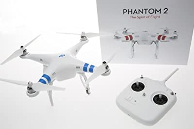 DJI Phantom 2 Quadcopter with Zenmuse H3-3D 3-Axis Gimbal for GoPro Video Camera