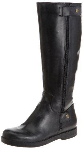 Easy Spirit Marlenne Womens Size 6 Black Leather Fashion Knee-High Boots