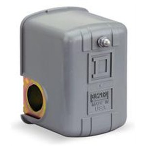 Pressure Switch, 80-100Psi, 1Port, Dpst, 10A