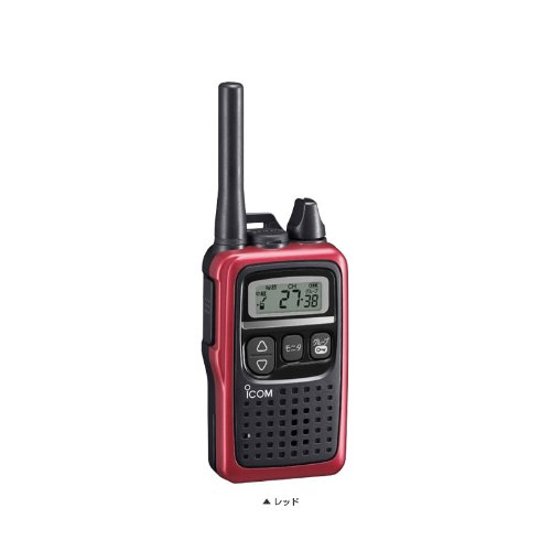 ICOM specific low power transceiver metallic red IC-4300R