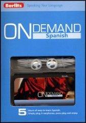 Berlitz 735884 On Demand Spanish - Digital Audio Player And Headphones