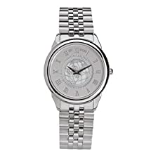 buy Indiana University - Men'S Stainless Steel 5 Micron Watch