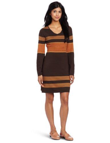 Prana Women's Sydney Sweater Dress, Espresso, Small