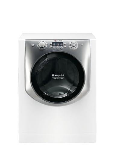 Hotpoint-Ariston AQD970F 69 EU Lave linge séchant 1600 trs/min Argent, Blanc