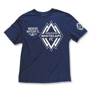 adidas Vancouver Whitecaps Second Logo Soft T-Shirt
