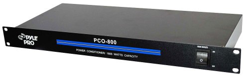 Pyle-Pro PCO800 19'' Rack Mount 1800 Watt Power Conditioner w/ 8 Outlets (Power Conditioner Audio compare prices)