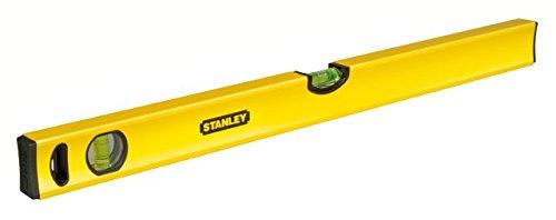 Stanley-Wasserwaage-Klassik-200cm-Lnge-horizontalevertikale-Libelle-Schockabsorber-Genauigkeit-05mmm-STHT1-43109