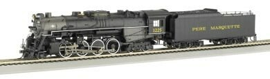 Bachmann Trains 2-8-4 Berkshire Pere Marquette 1225 back-312075