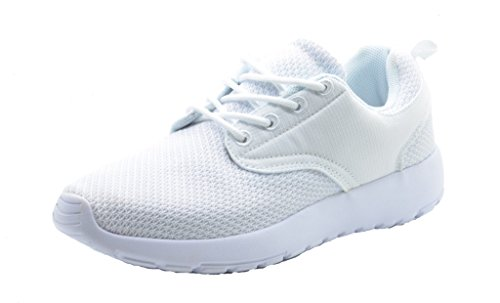 DREAM PAIRS RUNPRO Women's New Light Weight Go Easy Walking Casual Athletic Comfort Running Shoes Sneakers WHITE SIZE 10