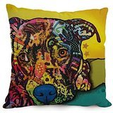 [The Dog Abstract Art Pillowcase Of ,12 X 20 Inches / 30 By 50 Cm Decoration,gift For Coffee House,teens Boys,deck Chair,him,bench,gf (two] (80s Rock N Roll Costumes)