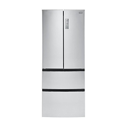 Haier HRF15N3AGS 14.97 cu. ft. 4 Door French Door Freezer/Refrigerator, Stainless Steel (Haier 2 Door Fridge compare prices)