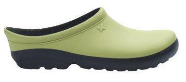 Sloggers 260KW10 Women's Premium Clog, Size-10, Kiwi