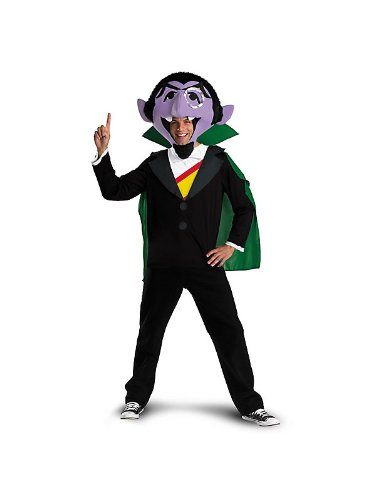 Sesame Street TM The Count Adult Costume
