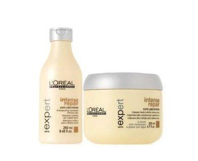 L'Oreal Professionnel Serie Expert Intense Repair Shampoo 8.45Oz & Masque 6.7Oz