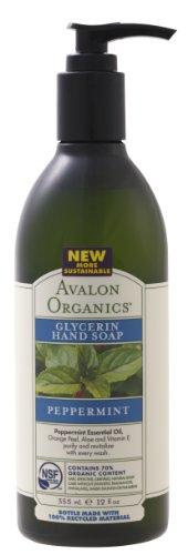 AVALON ORGANICS アバロンオーガニクス Hand SOAP Pfefferminz-355 ml