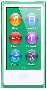 最新モデル 第7世代 Apple iPod nano 16GB グリーン MD478J/A