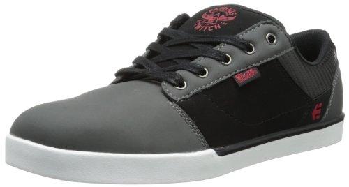 226b12472 etnies Men s FSAS X Twitch Jefferson Skate Shoe Grey Black Red 9 D ...