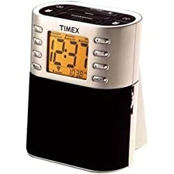 Timex Auto Set AM/FM Clock Radio with Nature Sounds ~ T308S