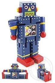 Robot X-7-bending Shaping Rotate Wooden Toy - 1